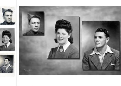 Reproduction Restauration de photos anciennes  - studio FRANCK FOTO Séméac Tarbes 65