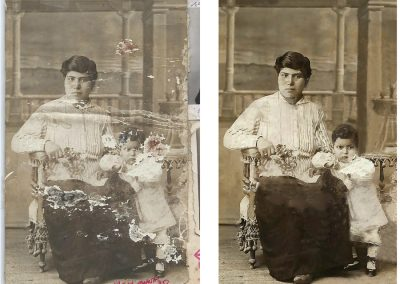 Reproduction Restauration de photos anciennes à Tarbes Séméac 65